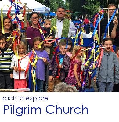 Click to explore Pilgrim Church