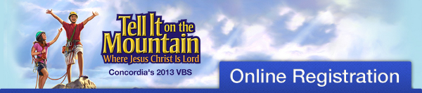Register Online for VBS at Pilgrim